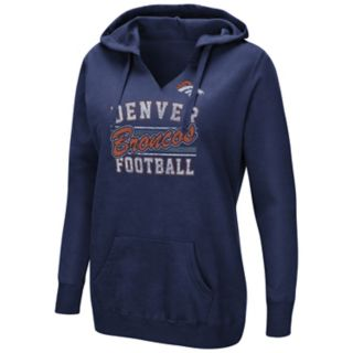 Women's Majestic Denver Broncos Quick Out Hoodie