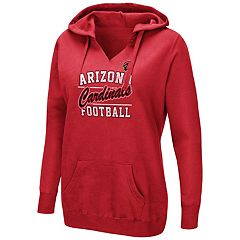 Women's Majestic Arizona Cardinals Quick Out Hoodie