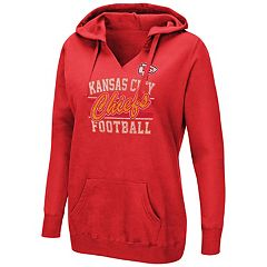 Women's Majestic Kansas City Chiefs Quick Out Hoodie