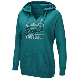 Women's Majestic Philadelphia Eagles Quick Out Hoodie