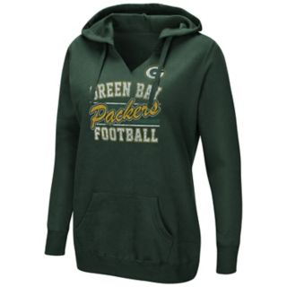 Women's Majestic Green Bay Packers Quick Out Hoodie