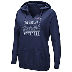 Women's Majestic New England Patriots Quick Out Hoodie