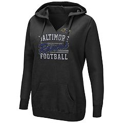Women's Majestic Baltimore Ravens Quick Out Hoodie