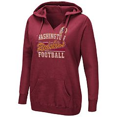 Women's Majestic Washington Redskins Quick Out Hoodie