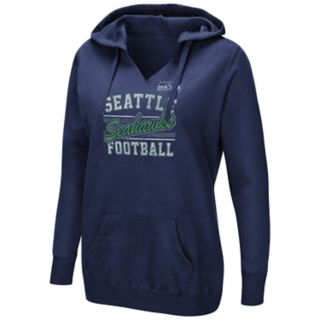 Women's Majestic Seattle Seahawks Quick Out Hoodie