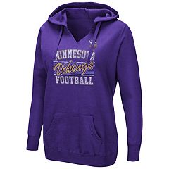 Women's Majestic Minnesota Vikings Quick Out Hoodie