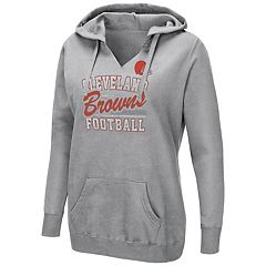 Women's Majestic Cleveland Browns Quick Out Hoodie