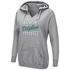 Women's Majestic Miami Dolphins Quick Out Hoodie