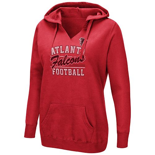 Women's Majestic Atlanta Falcons Quick Out Hoodie