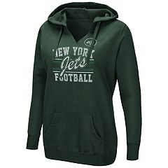 Women's Majestic New York Jets Quick Out Hoodie
