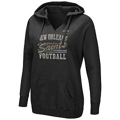 Women's Majestic New Orleans Saints Quick Out Hoodie