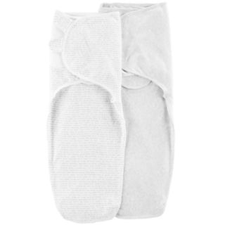 Baby Carter's 2-Pack Print & Solid Swaddles