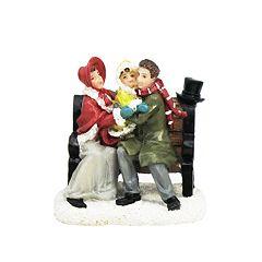 St. Nicholas Square® Village Double Figurines Couple with Child