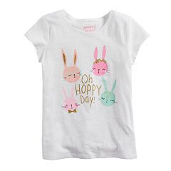 Toddler Girl Jumping Beans® Easter Themed Slubbed Graphic Tee