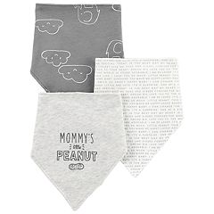 Baby Carter's 3-Pack Embroidered & Print Bandana Bibs