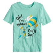 "Boys 4-10 Jumping Beans® Dr. Seuss ""Oh! The Places You'll Go"" Graphic Tee"