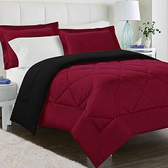Peach Skin Reversible Comforter Set