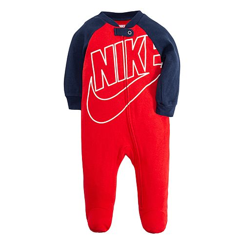 aee01737fe7 Baby Boy Nike Futura Footed Coverall