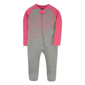 Baby Girl Nike Futura Footed Coverall