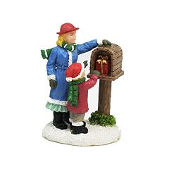 St. Nicholas Square® Village Double Figurines Mother and Daughter Take Gift
