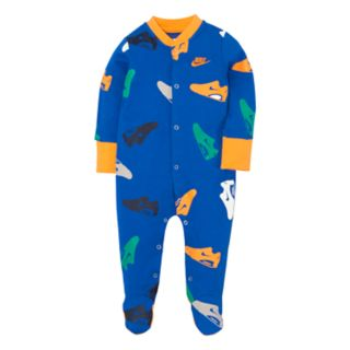 Baby Boy Nike Athletic Shoe Footed Coverall