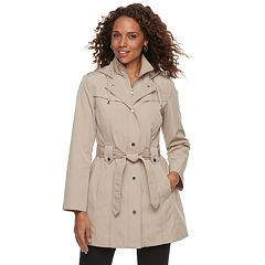 Women's TOWER by London Fog Hooded Rain Jacket