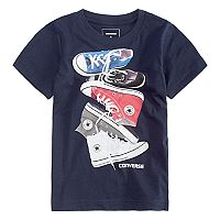 Boys 4-7 Converse Stacked Chucks Graphic Tee