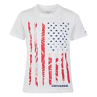 Boys 4-7 Converse Tie-Dyed Flag Graphic Tee