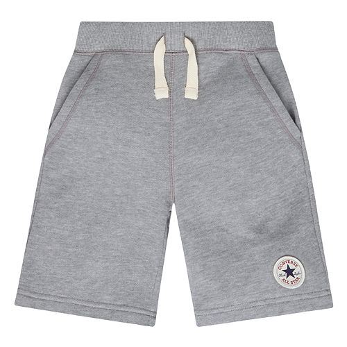 Boys 4-7 Converse French Terry Chuck Taylor Patched Shorts