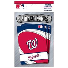 Washington Nationals Playing Cards