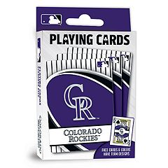 Colorado Rockies Playing Cards