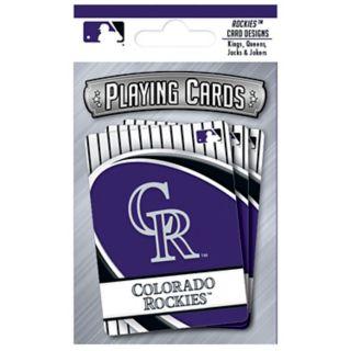 Colorado Rockies Playing Cards