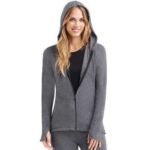 Women's Cuddl Duds Comfortwear Full-Zip Hoodie