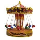 St. Nicholas Square® Village Carousel Swings With Motion