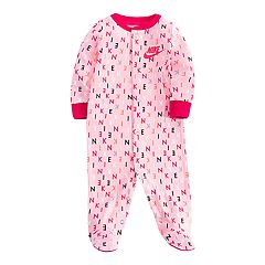 Baby Girl Nike Footed Coverall