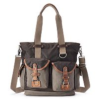 The Same Direction Tapa Two-Tone Canvas Tote