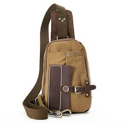 The Same Direction Hidden Woods Canvas Sling Bag