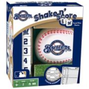 Milwaukee Brewers Shake 'n' Score Travel Dice Game
