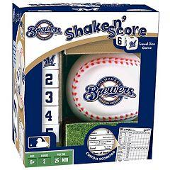 Milwaukee Brewers Shake 'n' Score Travel Dice Game