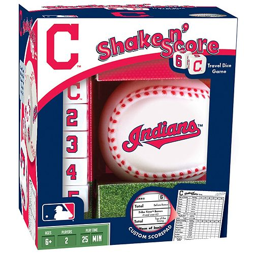Cleveland Indians Shake 'n' Score Travel Dice Game