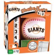 San Francisco Giants Shake 'n' Score Travel Dice Game