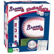 Atlanta Braves Shake 'n' Score Travel Dice Game