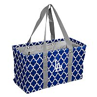 Logo Brand Los Angeles Dodgers Picnic Caddy Tote