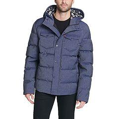 Men's Levi's® Quilted Puffer Trucker Hybrid Jacket