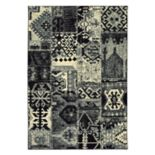 StyleHaven Leo Tribal Patchwork Rug