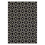 StyleHaven Leo Geometric Lattice Rug