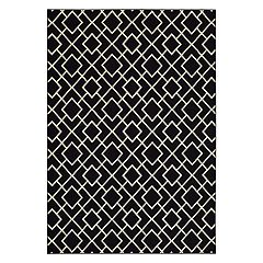 StyleHaven Leo Geometric Lattice Rug