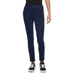 Juniors' SO® Color Low Rise Twill Leggings