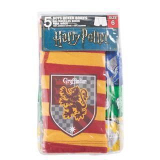 Boys 4-8 Harry Potter 5-Pack Boxer Briefs