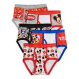 Boys 4-8 Mickey Mouse 5-Pack Boxer Briefs